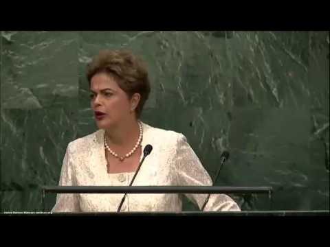UN Speeches: Brazilian President Dilma Rousseff