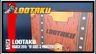 Subscription Spot | Lootaku March 2018 Subscription Box UNBOXING!