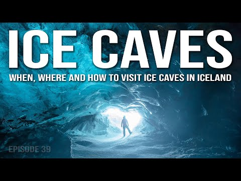 ICE CAVES | Landscape Photography in Iceland | 4K