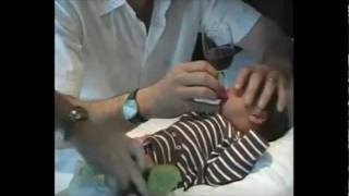Legal Drinking Age in US?  8 days old (added circumcision blood sucking clip)