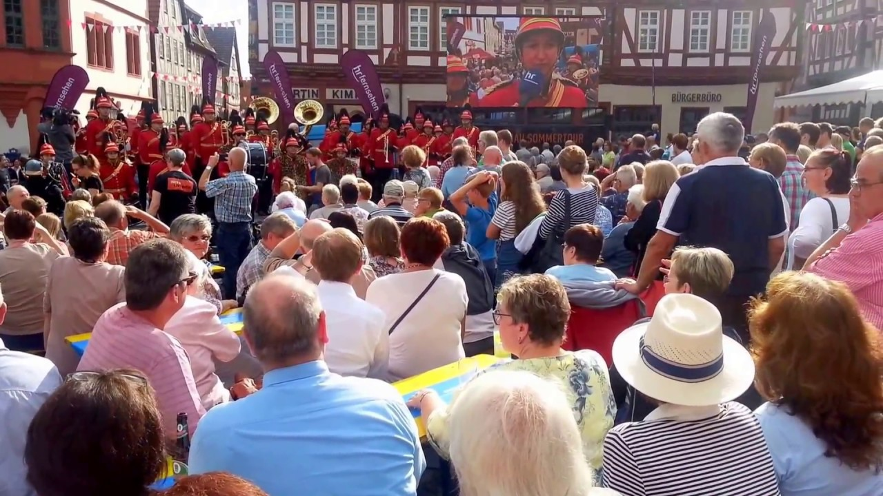 Hr Sommertour In Alsfeld Show And Brass Band Youtube
