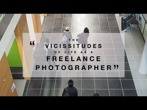 Media Matters Talk 2017/18 #2: The Vicissitudes of Life As A Freelance Photographer