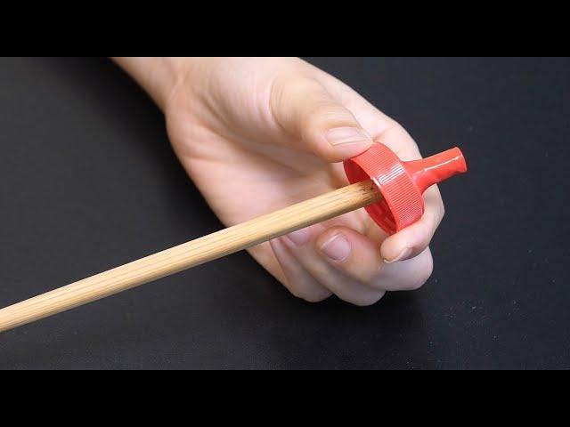 活了20年才知道,把塑料瓶盖用筷子戳一戳,放厨房,全家人抢着用