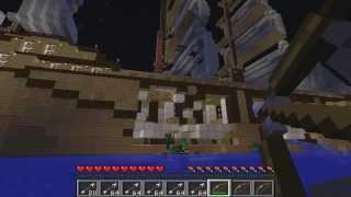 Морской бой в Minecraft