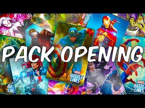 EPIC PREMIUM CARD PACK OPENING! - MARVEL Battle Lines