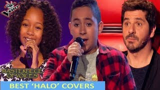 BEST 'HALO SINGERS' COVERS IN THE VOICE (KIDS)