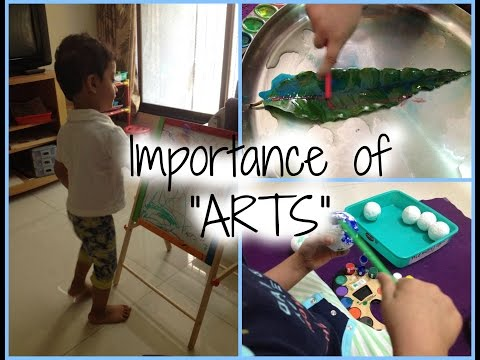 Importance of art for Toddlers & Preschoolers!