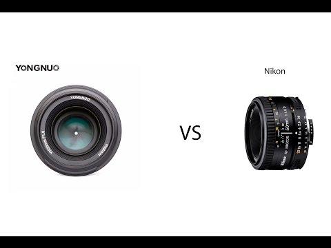 Yongnuo 50 Mm F/1.8 Vs Nikon 50mm F/1.8D AF Nikkor