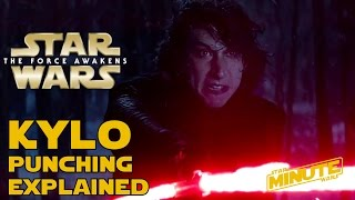 why kylo ren was punching himself star wars explained
