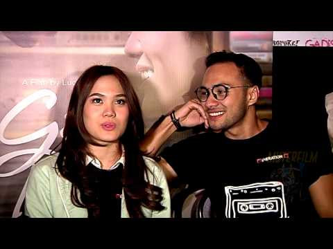 Sheryl dan Refal Adegan Kissing Film Galih dan Ratna