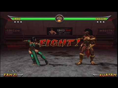 Mortal Kombat: Armageddon (PlayStation 2) Arcade As Jade
