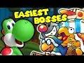 Top 10 EASIEST Yoshi Boss Fights!