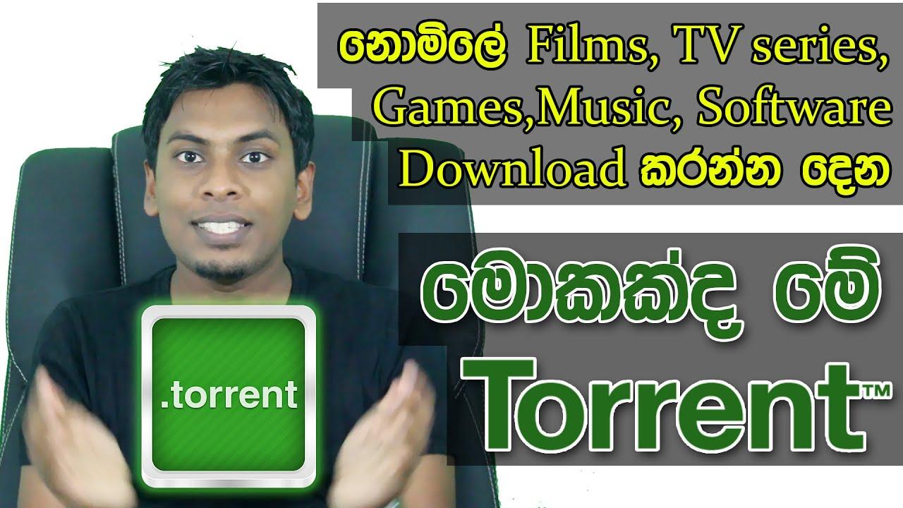 සිංහල Geek Show - What is Torrent & How it Works Explain in Sinhala