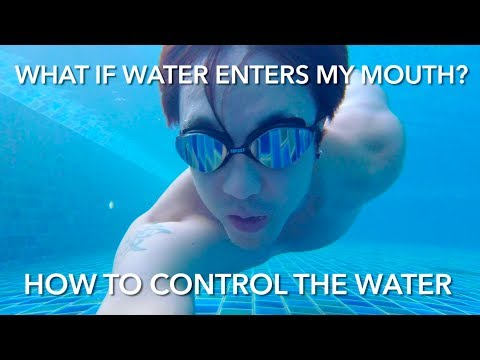 How to CONTROL the Water In Your Mouth - Swimming Tips