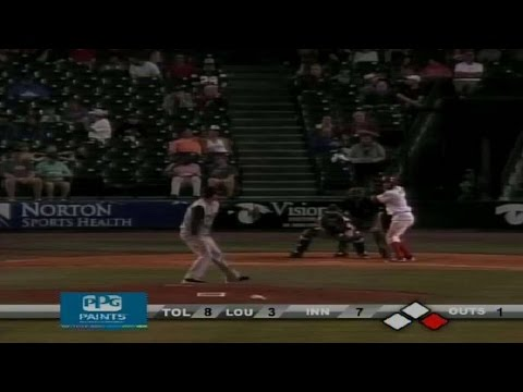 Fort Wayne's Giron singles home two from YouTube · Duration:  35 seconds