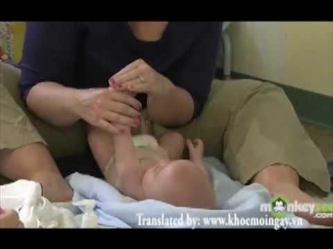 Hướng dẫn mátxa cho trẻ nhỏ - www.khoemoingay.vn.flv