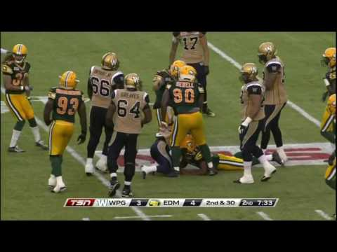 JC Sherritt  - Edmonton Eskimos #47