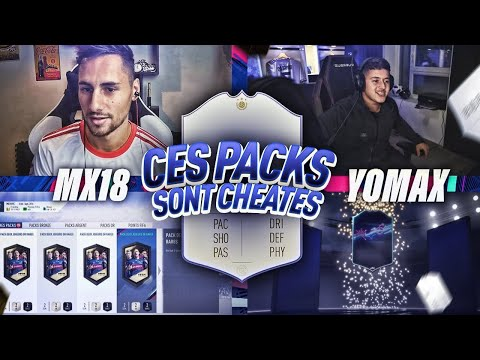 FIFA 19 - DUEL PACK OPENING VS YOMAX - CES PACKS SONT CHEATÉS !!