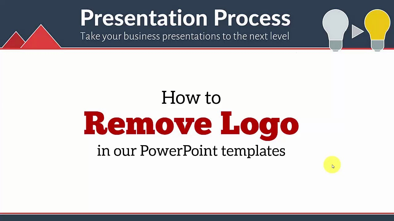 How to remove logo in your powerpoint templates youtube how to remove logo in your powerpoint templates toneelgroepblik Gallery