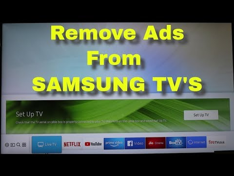 How To Block Interest Based Ads On Samsung Smart Tv & Remove Smart