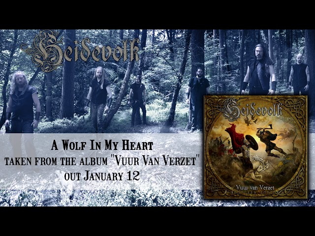 HEIDEVOLK - A Wolf In My Heart (Official Audio) | Napalm Records