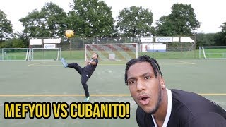 Heftige volley fussball challenge vs mefyou!!