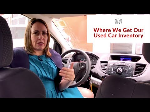 Where We Get Our Used Car Inventory