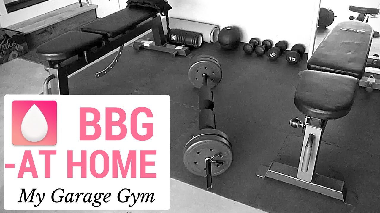 Garage gym tour pando s barbell club youtube - Bbg At Home My Garage Gym