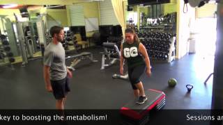 Live Well Fitness and Weight Loss Personal Training Session