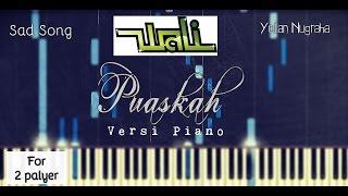 Musik Paling Sedih.. Wali - Puaskah Versi Piano