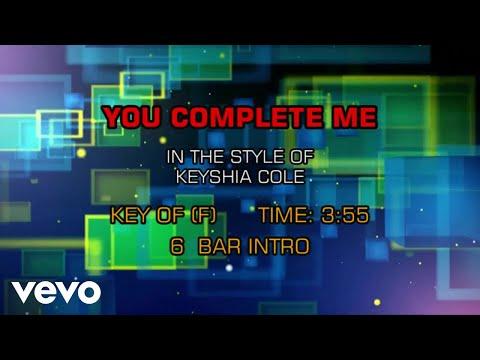 Keyshia Cole - You Complete Me (Karaoke)