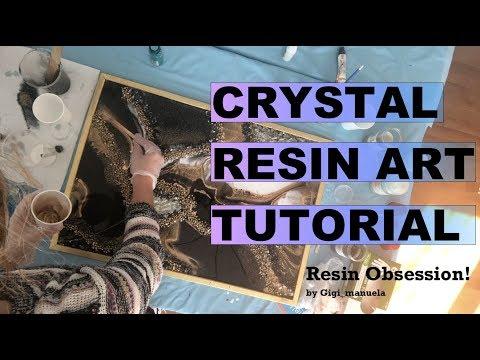 Crystal Resin Art Tutorial