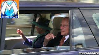 Queen Elizabeth II. Frankfurt - VIP-Eskorte