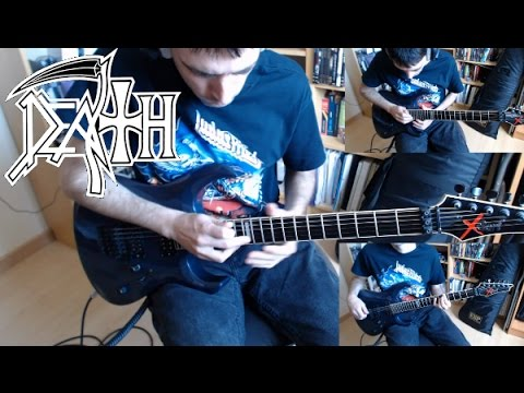 Death - Crystal Mountain Guitar Cover (Hd)