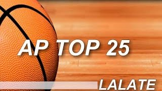 AP Top 25 College Basketball Rankings 2015 Update NCAA Poll Standings