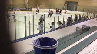 November 10 2018 Western AAA Midgets from Grand Falls half of second period vs Eastern