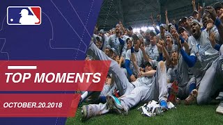 Top Moments from October 20, 2018