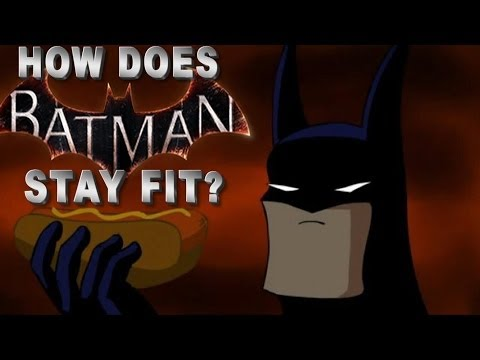 Batman Arkham Origins - How Does Batman Stay Fit?