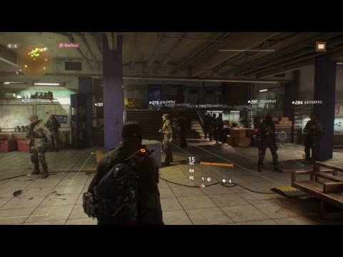 The division global event BLACK OUT PS4