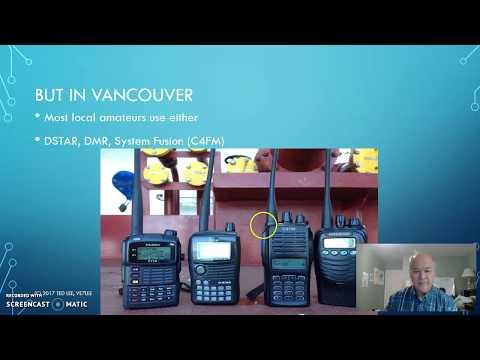 Digital Amateur Radio in Vancouver Part 1 of 2
