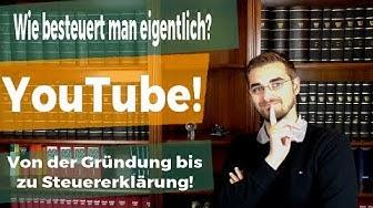 YouTube und die Besteuerung - so geht's!