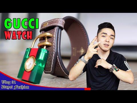 Review đồng hồ GUCCI dị nhất Thế Giới | Phụ kiện thời trang #1 | Vlog 31 - Duyet Fashion