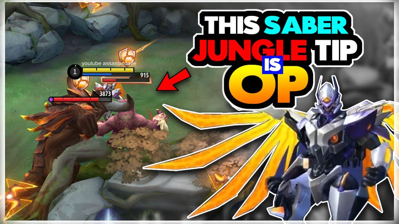 Double Saber Jungle Speed after this video | Mobile Legends Saber Jungle Guide