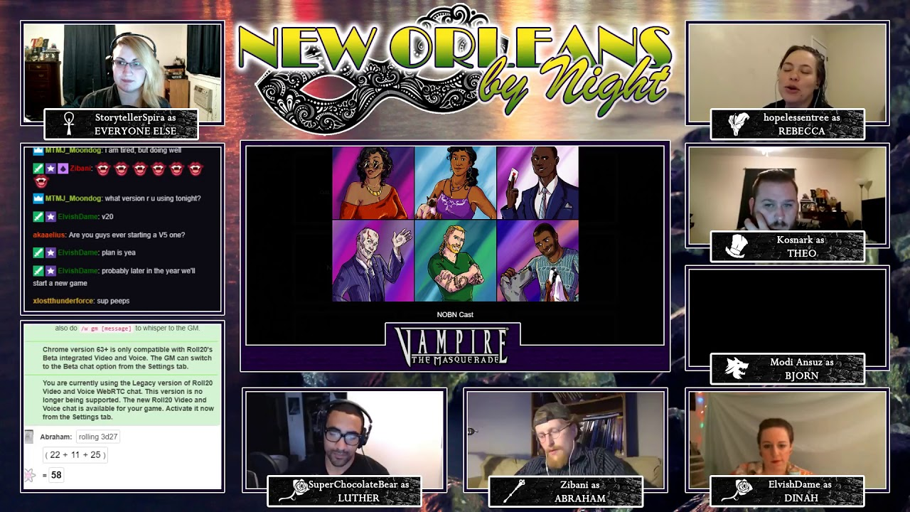Vampire: the Masquerade - New Orleans by Night - Episode 22