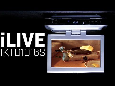 iLive IKTD1016S Under Cabinet Kitchen TV