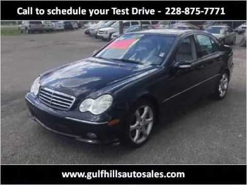 2007 Mercedes-Benz C-Class Used Cars Ocean Springs MS