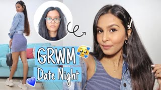 1 Hour Date Night Transformation DIY Hair Treatment Face Mask Makeup Hair Outfit