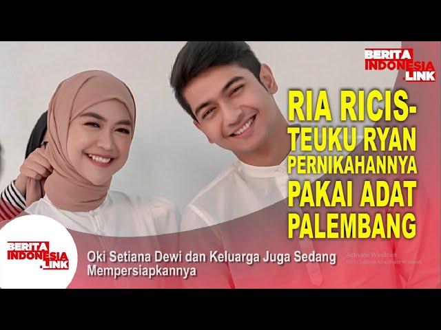 Ria Ricis - Teuku Ryan Gunakan Adat Palembang dan Jawa
