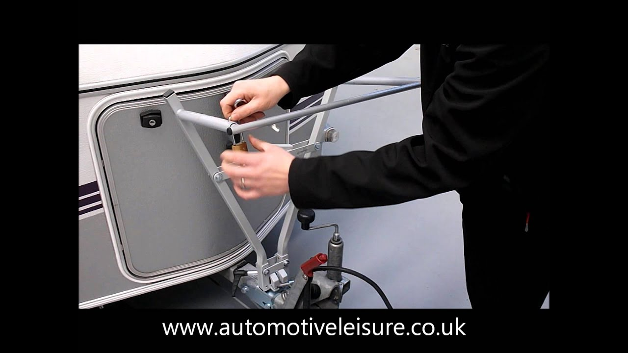Eriba Cycle Carrier Rack For Up To 2 Bikes Youtube