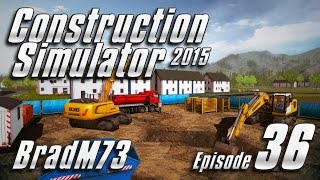 Construction Simulator 2015 - Episode 36 - Heavy Load Trailer Tutorial!